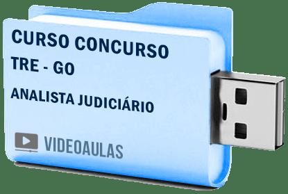 TRE GO Analista Área Judiciária Curso Concurso Vídeo Aulas