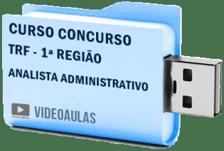 TRF 1ª Região Analista Administrativo Curso Vídeo Aulas Concurso