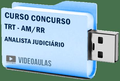 TRT AM / RR Analista Área Judiciária Curso Concurso Vídeo Aulas