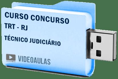 Curso Vídeo Aulas Concurso TRT – RJ – Técnico Administrativo