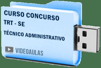 TRT SE Técnico Administrativo Curso Concurso Vídeo Aulas