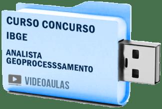 Curso Vídeo Aulas Concurso IBGE Analista Geoprocessamento