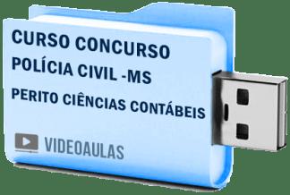 Curso Vídeo Aulas Concurso Polícia Civil MS – Perito Ciências Contábeis
