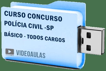 Curso Básico Vídeo Aulas Concurso Polícia Civil SP – Todos os Cargos