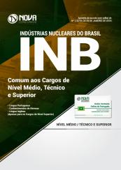 Apostila INB 2018 – Comum aos Cargos de Nível Médio, Técnico e Superior