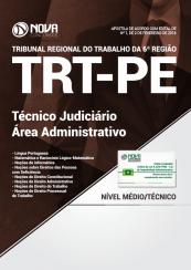 Apostila TRT – PE 6 ª Região 2018 – Técnico Judiciário – Área Administrativo
