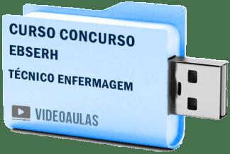 Curso Vídeo Aulas Concurso EBESERH – Técnico Enfermagem 2018 – Pendrive