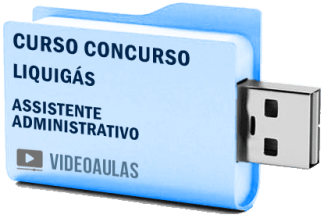 Curso Vídeo Aulas Concurso Liquigás – Assistente Administrativo 2018 – Pendrive