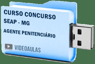 Curso Vídeo Aulas Concurso SEAP – MG – Agente Penitenciário – Pendrive