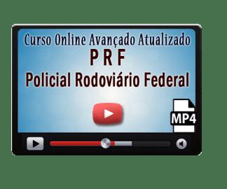 Curso Concurso PRF Online Avançado – Policial Rodoviário – Vídeo Aulas