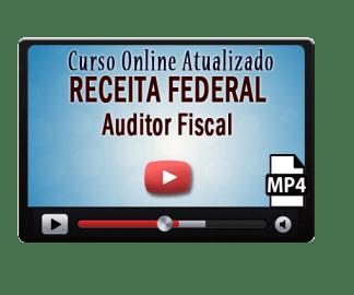 Concurso Receita Federal Auditor Fiscal Curso Online Videoaulas