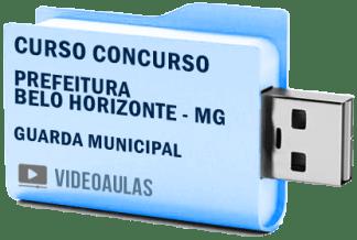 Curso Concurso Prefeitura Belo Horizonte MG – Guarda Municipal Vídeo Aulas