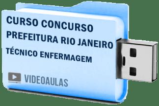 Curso Concurso Prefeitura Rio de Janeiro RJ – Técnico Enfermagem Vídeo Aulas