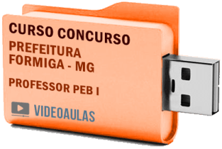 Concurso Prefeitura Formiga – MG Professor PEB I Curso Videoaulas