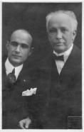 George Georgescu si Richard Strauss 1922