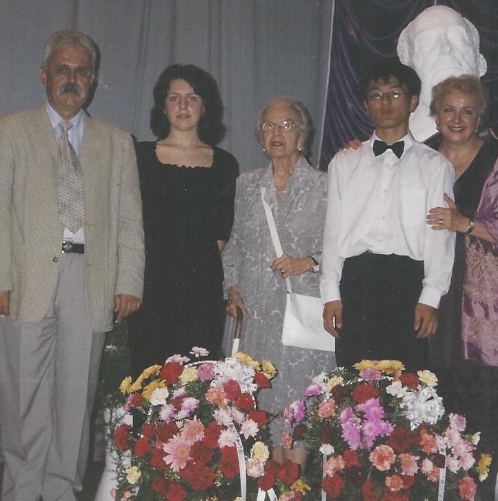 Liu Hui Wang, China, pian, Marele Premiu George Georgescu 2002