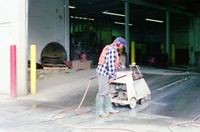 Diamond texturizing creates a long-lasting non-skid surface where concrete is smooth and presents a slip hazard or additional traction on ramps is required.