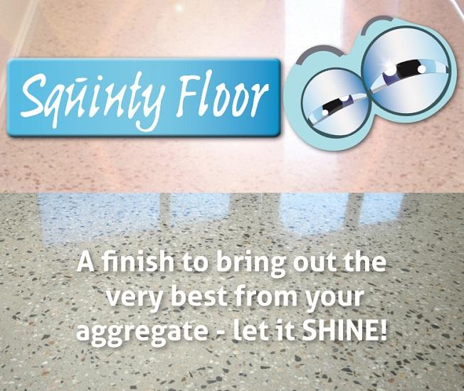 ConcVert, Squinty Floor, Let it Shine!