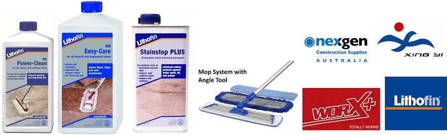 Concrete Floor Care Products