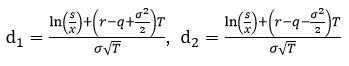 Option평가누적확률분포