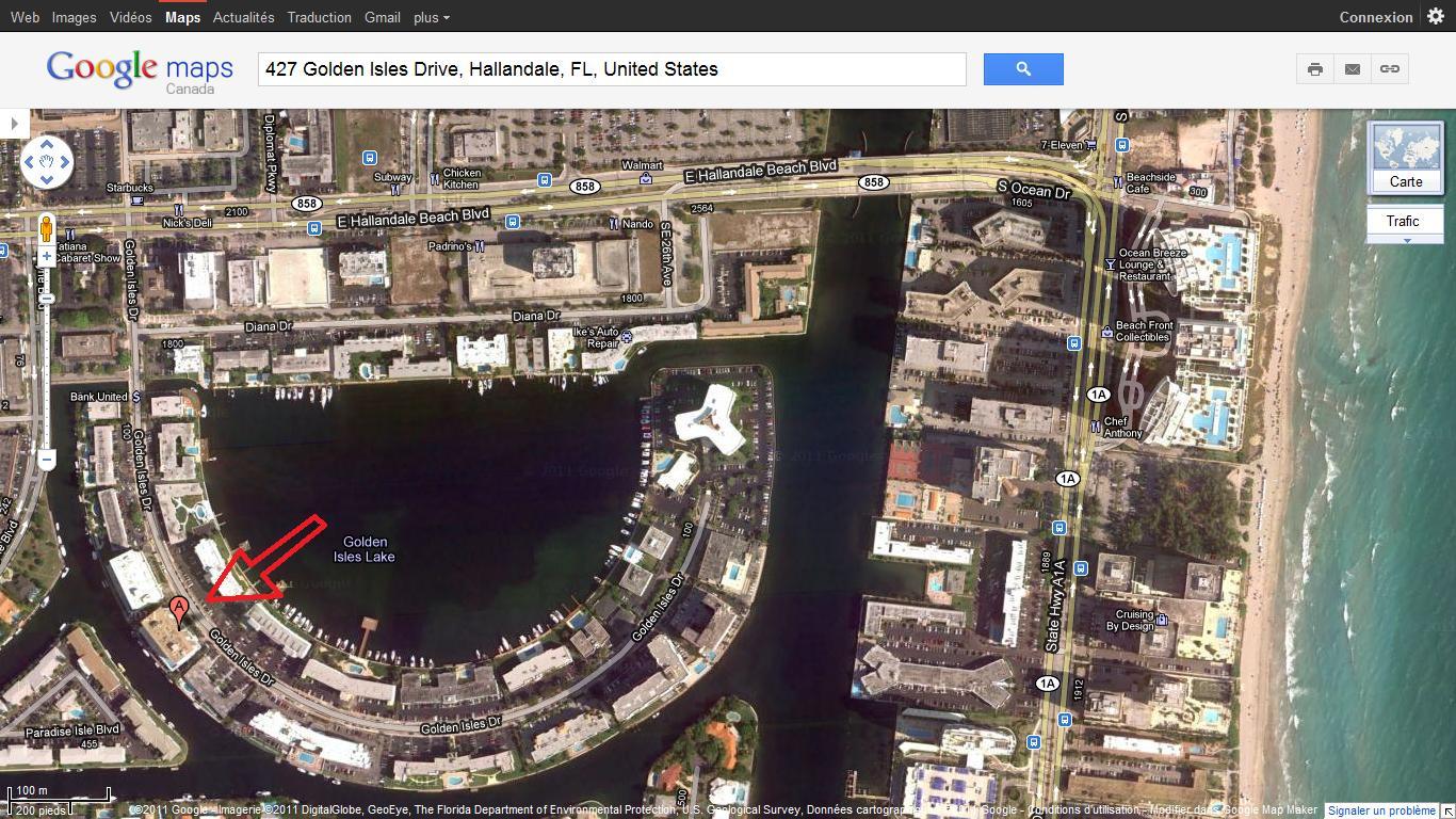 Google Maps Florida Usa