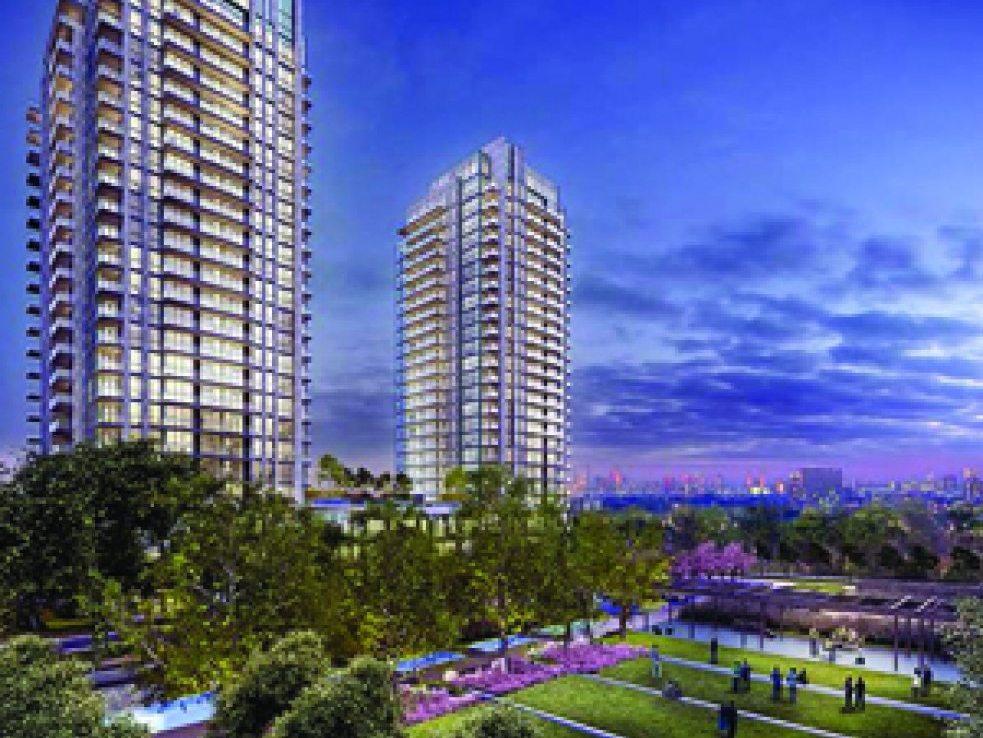 Park Towers at IQ Condos Building View Toronto, Canada