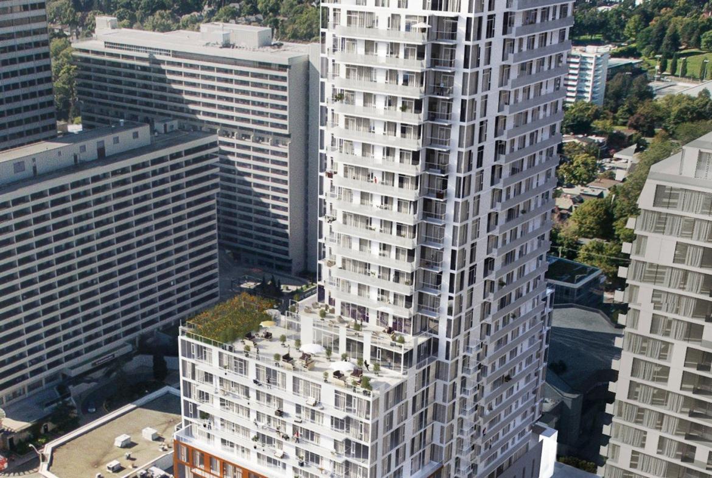 Whitehaus Condos Front View Toronto, Canada