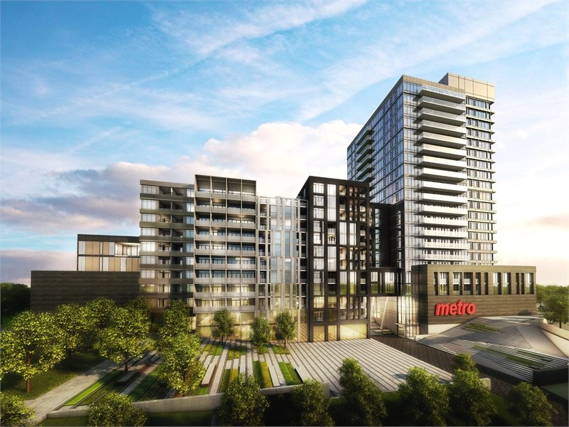 Carnaby ROW Condos Building View Toronto, Canada