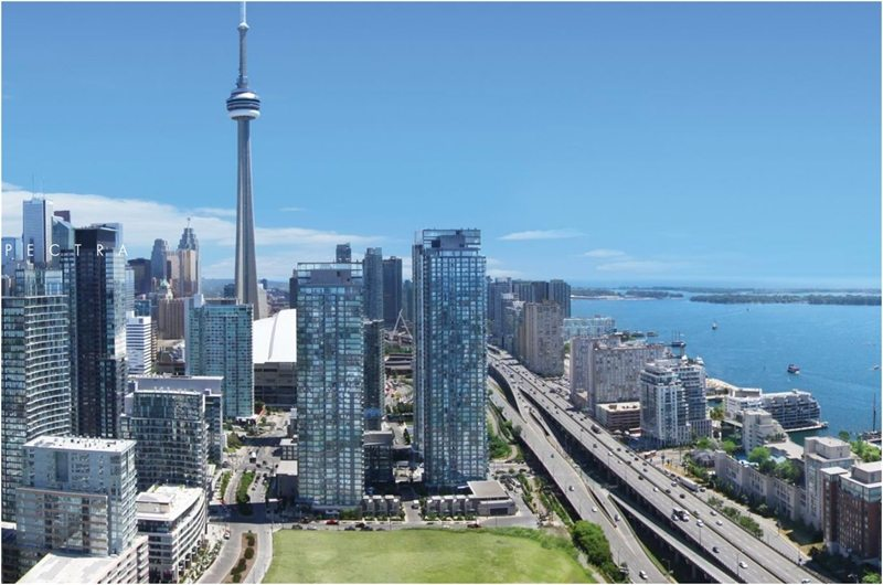 Spectra Condos Building View Toronto, Canada