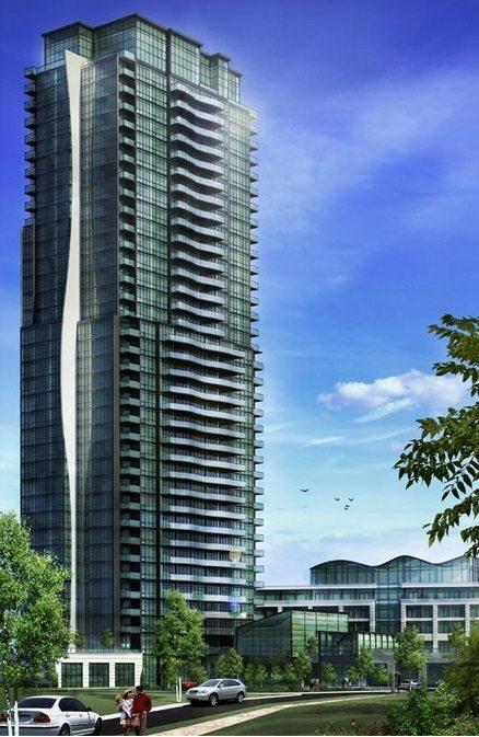 Expo Condos Building View Toronto, Canada