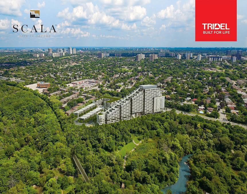 Scala Condos Aerial View Toronto, Canada