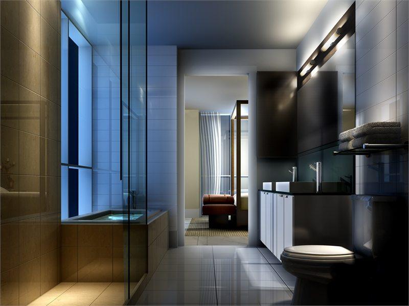 300 Front Condos Bathroom Toronto, Canada