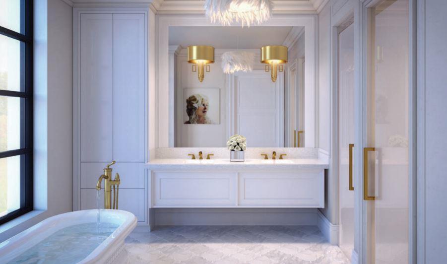 200 Russell Hill Condos Bathroom Toronto, Canada