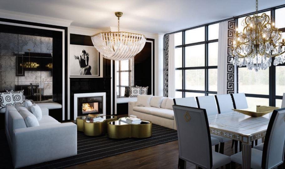 200 Russell Hill Condos Living Room Toronto, Canada