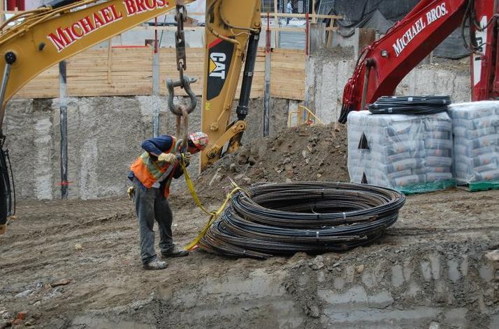 X2 Condos Working Site Toronto, Canada