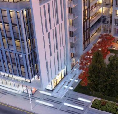 Ivory Condos Building Toronto, Canada