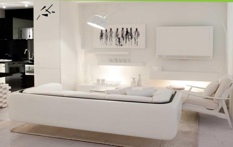 Tableau Condos Living Room Toronto, Canada