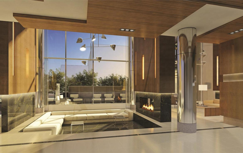 The Modern Condos Living Room Toronto, Canada