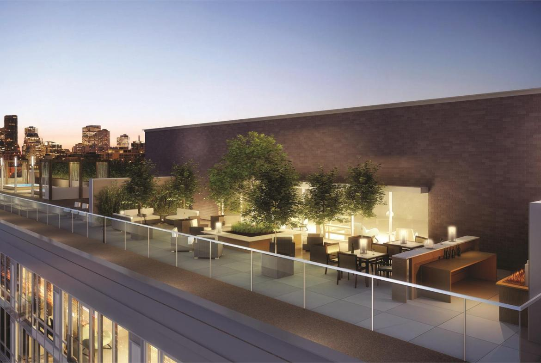 The Modern Condos Roof Top Toronto, Canada