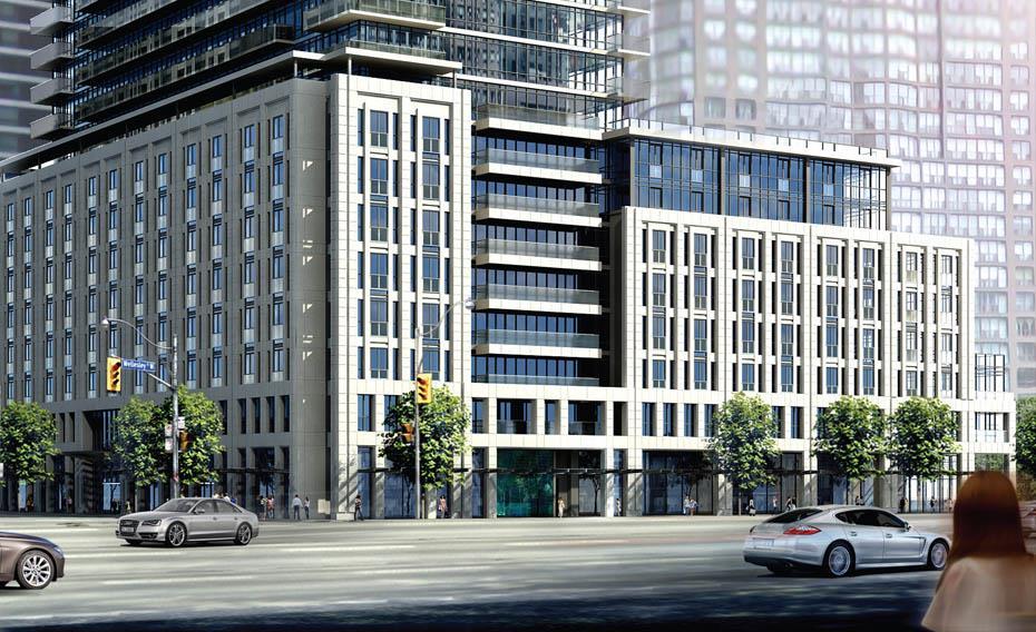 The Britt Condos Street View Toronto, Canada