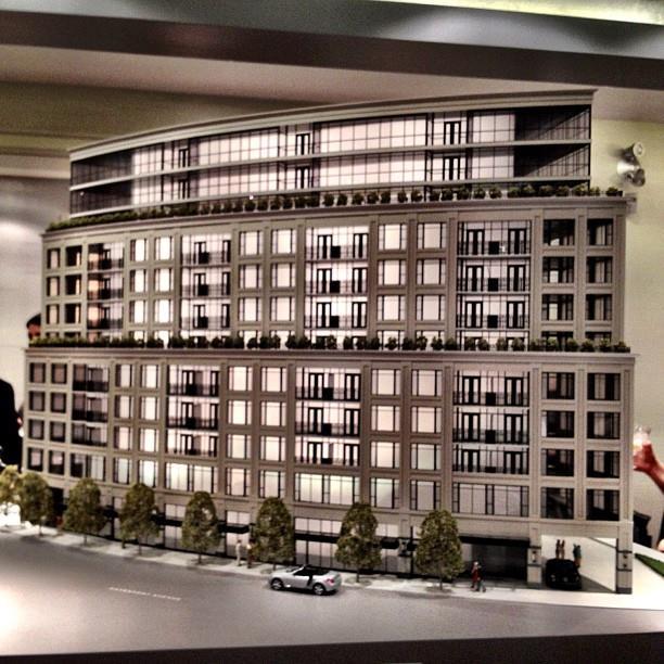 181 Davenport Condos Model View Toronto, Canada