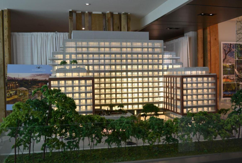 HighPark Residences Condos Building View Toronto, Canada