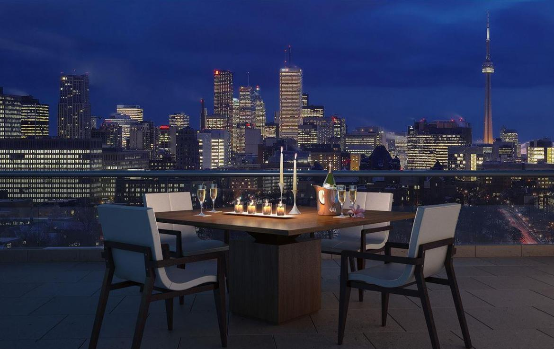 MuseumHouse Condos Terrace Dinner Toronto, Canada