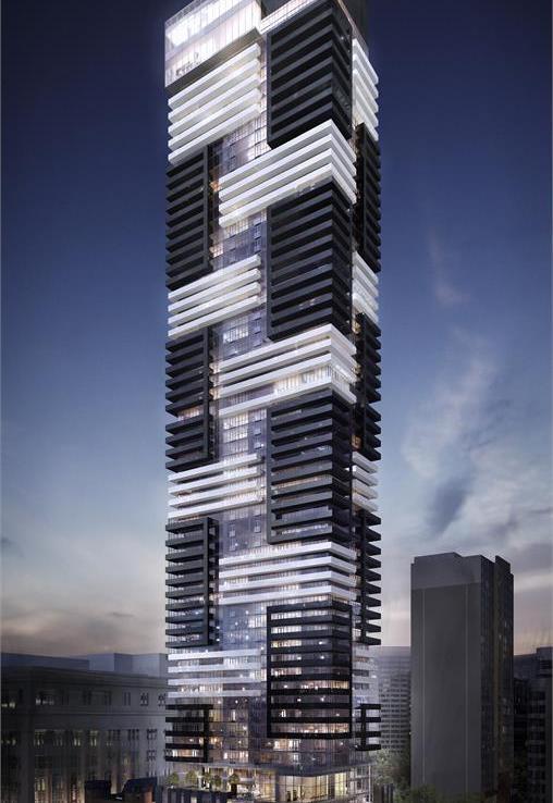 YC Condos Building View Toronto, Canada