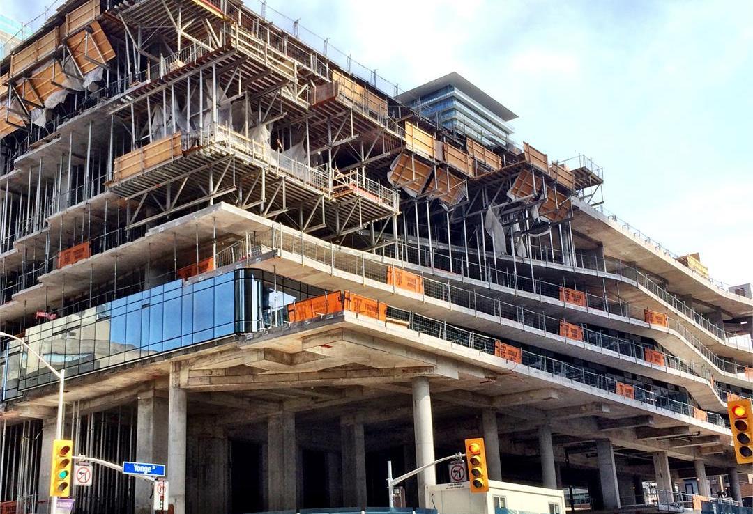 One Bloor Condos Construction Toronto, Canada