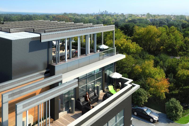 Lofts on Queen Condos Terrace View Toronto, Canada