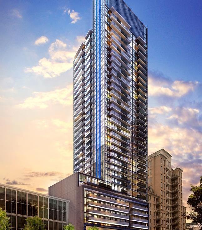 The Eglinton Condos Building View Toronto, Canada