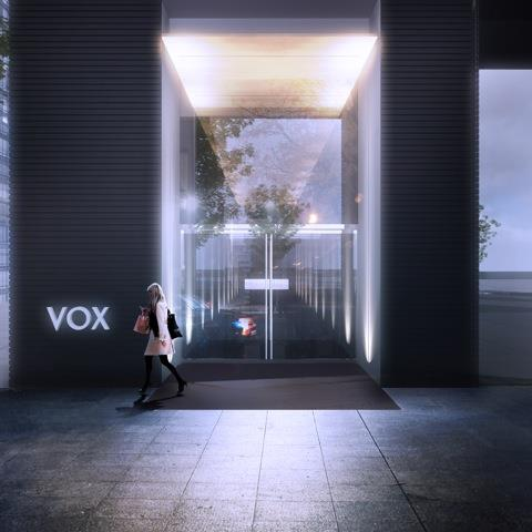 VOX Condos Entrance Toronto, Canada