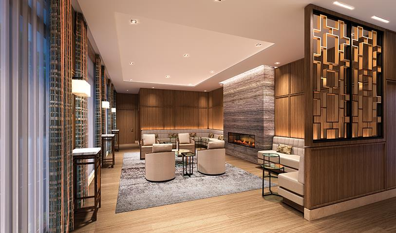 The Davies Condos Lounge Toronto, Canada
