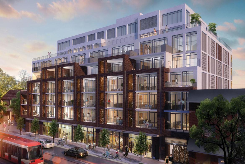 George Condos Building View Toronto, Canada